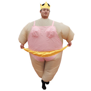Ballerina Inflatable Costume Adults Cosplay Halloween Party Carnival Christmas