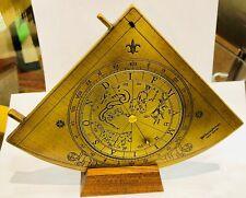 Astrolabe Quadrant de Gunter  - Hemisferium Replica Antique Scientific Instument