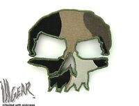 ill Gear CAMO MONSTER Tactical  Skull Patch Apocalypse Survival Zombie