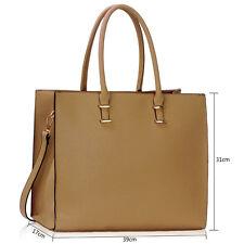 Ladies Women's Large Designer Fashion Tote Bags Shoulder Handbag College Bag