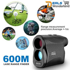 600M Telescope Laser Range Finder Hunting Golf  Distance Speed Meter