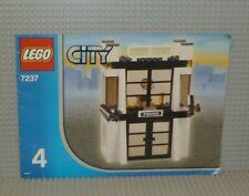 LEGO® City Bauanleitung 7237 Police Station Heft 4 ungelocht instruction B2646