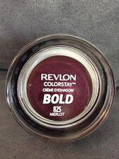 REVLON COLORSTAY CREME CREAM EYE SHADOW BOLD SATIN #825 MERLOT - NEW