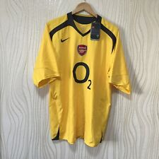 ARSENAL 2005 2006 AWAY FOOTBALL SHIRT SOCCER JERSEY NIKE YES BWT