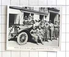 1917 Women Replacing Men At The Wheel, Waac In France