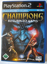PS 2 - CHAMPIONS RETURN TO ARMS - Spiel mit Verpackung - mit Anleitung