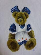 BRAND NEW ~ GIRLS SIZE 3 HANDPAINTED TEDDY BEAR TSHIRT ~ NEW