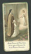 Estampa antigua Santa Teresita andachtsbild santino holy card santini