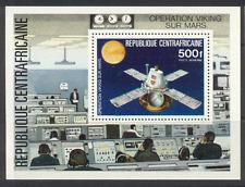 CENTRAFRICAINE 1979 ESPACE/Mars/Viking 1 V M/S (b10171)