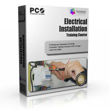 Electrical Installation Safety Electrician Training Course Guide Manual CD