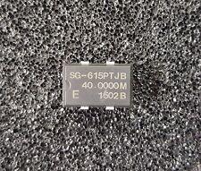 SEIKO Crystal Oscillator XO 40 MHz 5V TTL 4-Pin SMD *** NEW *** Qty.5