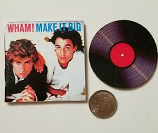 Miniature Record Album Barbie Gi Joe  Figure Playscale George Michaels Wham