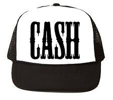 CASH Johnny Trucker CAP HAT Old School Vintage Style snapback