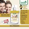 Glycolic Acid 70% Renewal Peel Exfoliator Pure AHA Cosmetic Strength