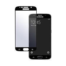 2x Panzerglas 9H Panzerfolie mit Rahmen full size für Samsung Galaxy S6 Schwarz