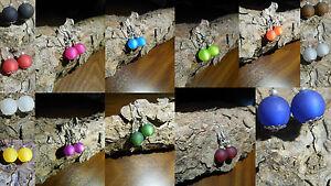 Neu Polarisohrringe blau grün rot braun Ohrringe  Polaris perlenohrringe 10mm