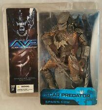 McFarlane Toys Scar Predator Alien vs. Predator Action Figure BRAND NEW 2004