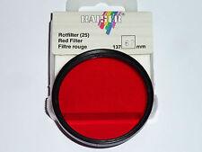Rotfilter 25a 62mm también para Leica e62 vergütet!!!