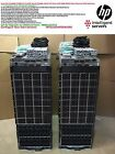 Dual HP EVA4400 C7000 G2 76.8TB 32x BL460c Gen8 4TB RAM 4Gbit FC SAN Solution!