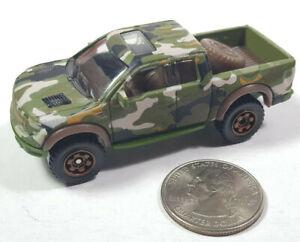 Ford F-150 SVT Raptor 2010 Camouflage Matchbox MBX Loose Rare