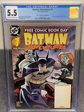 BATMAN ADVENTURES #1 (RARE, FREE COMIC DAY EDITION) CGC 5.5 Looks Like 8.5 Tho