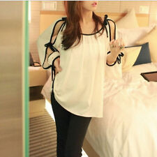 Regular Chiffon Casual 3/4 Sleeve Tops & Blouses for Women