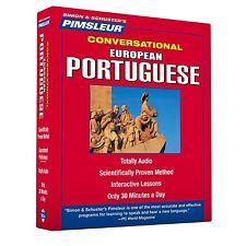 NEW 8 CD Pimsleur Portuguese (European) Language Course  (16 Lessons)
