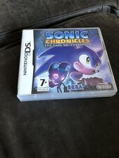 Sonic Chronicles The Dark Brotherhood Ds Game With Manual