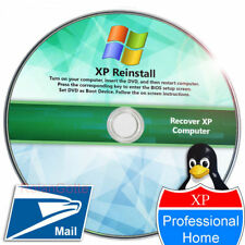 Windows XP Recovery Install Reinstall Repair SP3 SP2 SP1 Recovery CD DVD Disk