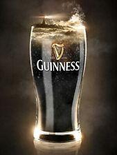 Guinness, Retro replica vintage style metal tin sign gift Pub