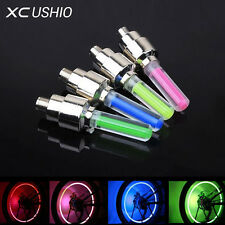 Motion Activated LED Glow (Set of 4) Bike Car Motorcycle Tire Valve Caps Wheel