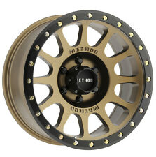 17 inch 17x8.5 Method NV Bronze wheel rim 6x5.5 6x139.7 +0