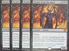 XXX 4x Reaper from the abyss inglés comandante 2014 (Demon Flying Morbid) nm/m