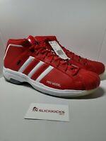 Adidas Pro Model 2G USA Basketball Team 2020 Tokyo Olympics Red FX4470 Men Sz 13