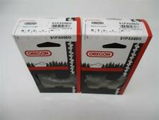 """2 16"""" Bar 91PX056 Oregon Chainsaw Blades 3/8"""" Low Profile 56 Drive Links Chain"""