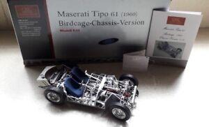CMC 1:18 Scale Maserati Tipi 61 (1960) Birdcage