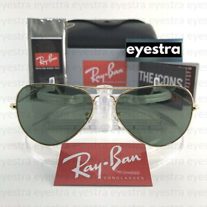 Ray-Ban RB3025 AVIATOR CLASSIC 58mm Gold