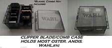 Clipper BLADE&ATTACHMENT/Guide COMB STORAGE CASE Tote*For Oster,Wahl,Andis,Laube