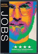 JOBS DVD SEALED - ASHTON KUTCHER - STEVE JOBS - AUTHENTIC US RELEASE