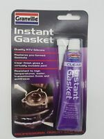 Granville Clear Instant Gasket & Silicone Sealer Silicone Stays Flexible 40g