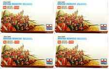 ESCI ERTL 1/72 scale Zulu War British Infantry Bundle - 4 mint boxed sets