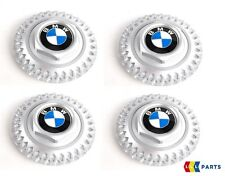 NEW GENUINE BMW E36 Z3 ALLOY WHEEL HUB CENTER CAPS SET OF FOUR STYLE 17 1180777