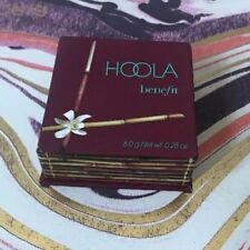 NEW! BENEFIT HOOLA MATTE BRONZING POWDER W/ BRUSH .28oz FULL Size *AUTHENTIC*