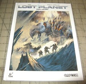 LOST PLANET First Colony (1st Print 2014) HC TPB - Titan Comics Capcom - IZU