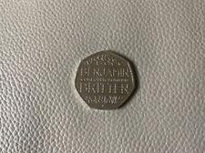 50p Benjamin Britten Rare 2013 - Circulated Fifty Pence Coin