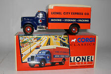 CORGI CLASSICS LIONEL CITY, #52503 MACK B SERIES VAN LIONEL CITY EXPRESS CO.