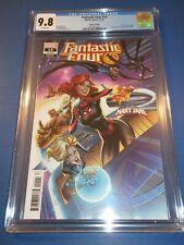 Fantastic Four #15 J Scott Campbell Variant Mary Jane CGC 9.8 NM/M Gorgeous gem