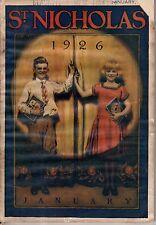 1926 St. Nicholas January - Tiny Town in Springfield MO; Eskimo Christmas; Magic