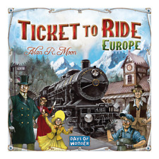 TICKET TO RIDE EUROPE Board Game Birthday Family  Fathers Day Christmas Gift