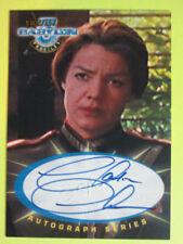1999 Babylon 5: Profiles - Autograph - ( Sa2 ) - Claudia Christian